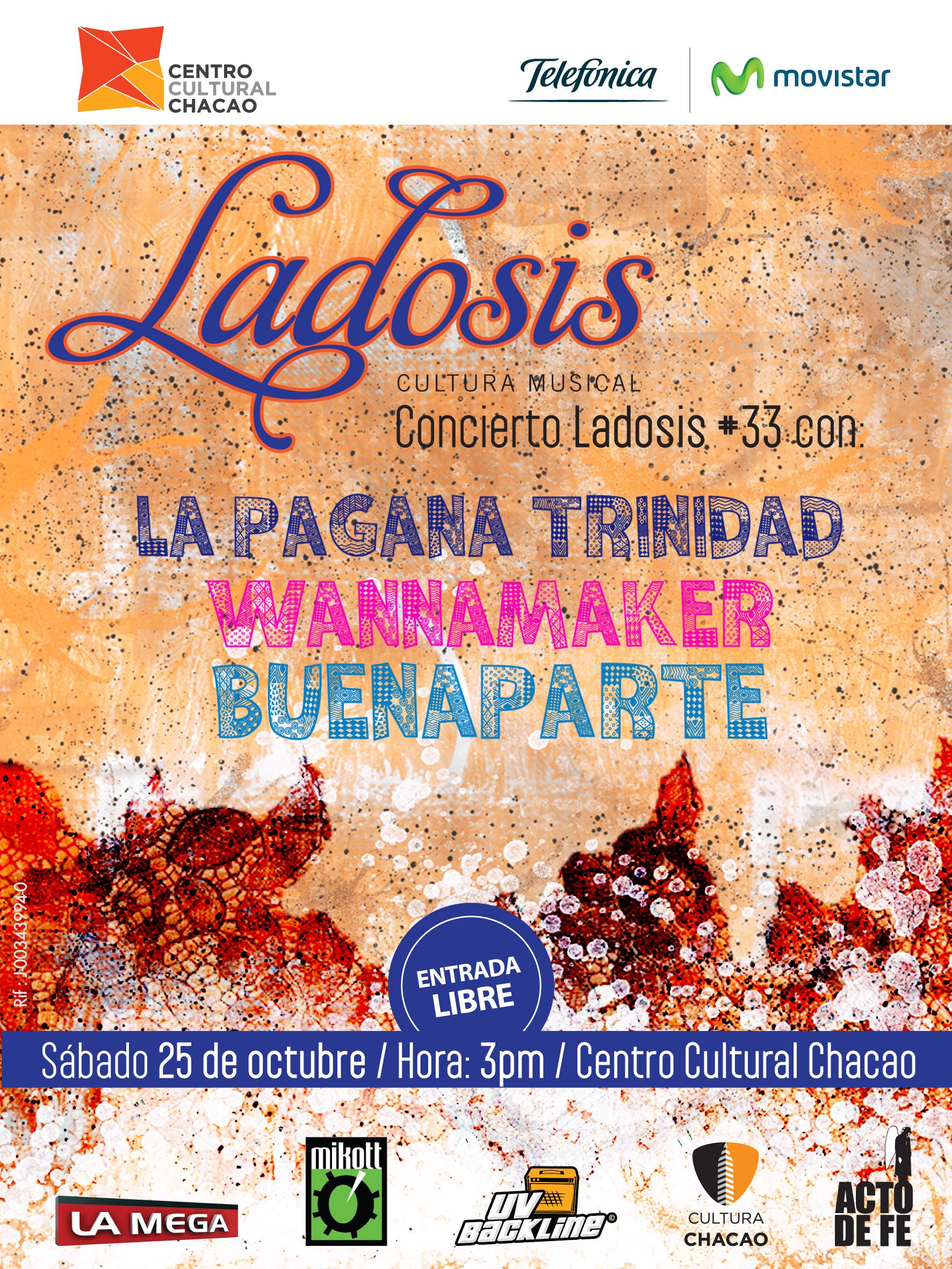 Flyer Concierto Ladosis # 33