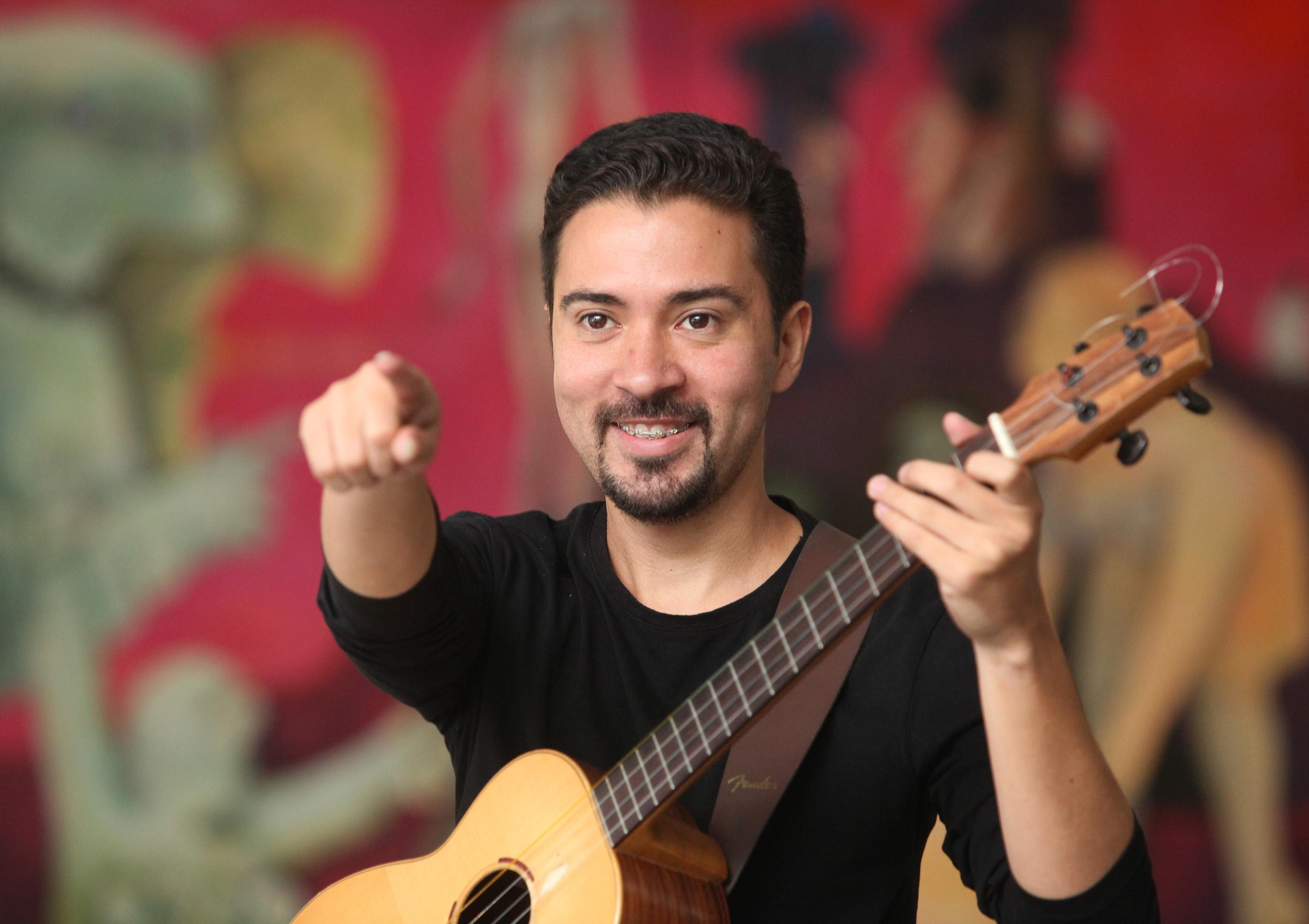 Edward Ramírez Músico. Caracas,21-05-2014 (MANUEL SARDA / EL NACIONAL)